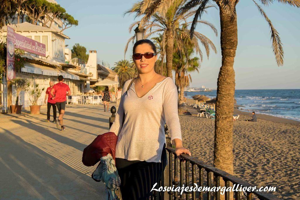 Margalliver en el PhotoWalk por el paseo marítimo de Marbella - Los viajes de Margalliver