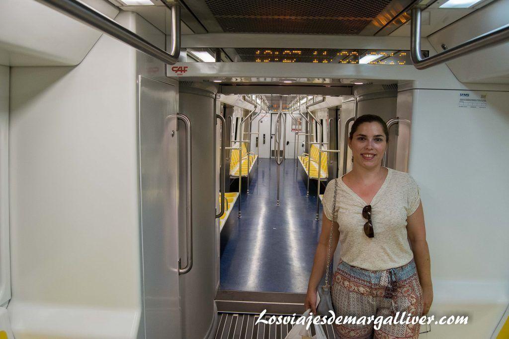 metro de Palma de Mallorca - Los viajes de Margalliver