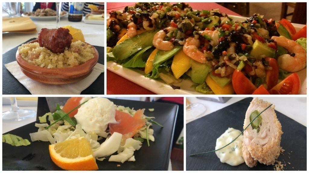 gastronomía de la Axarquia - Los viajes de Margalliver