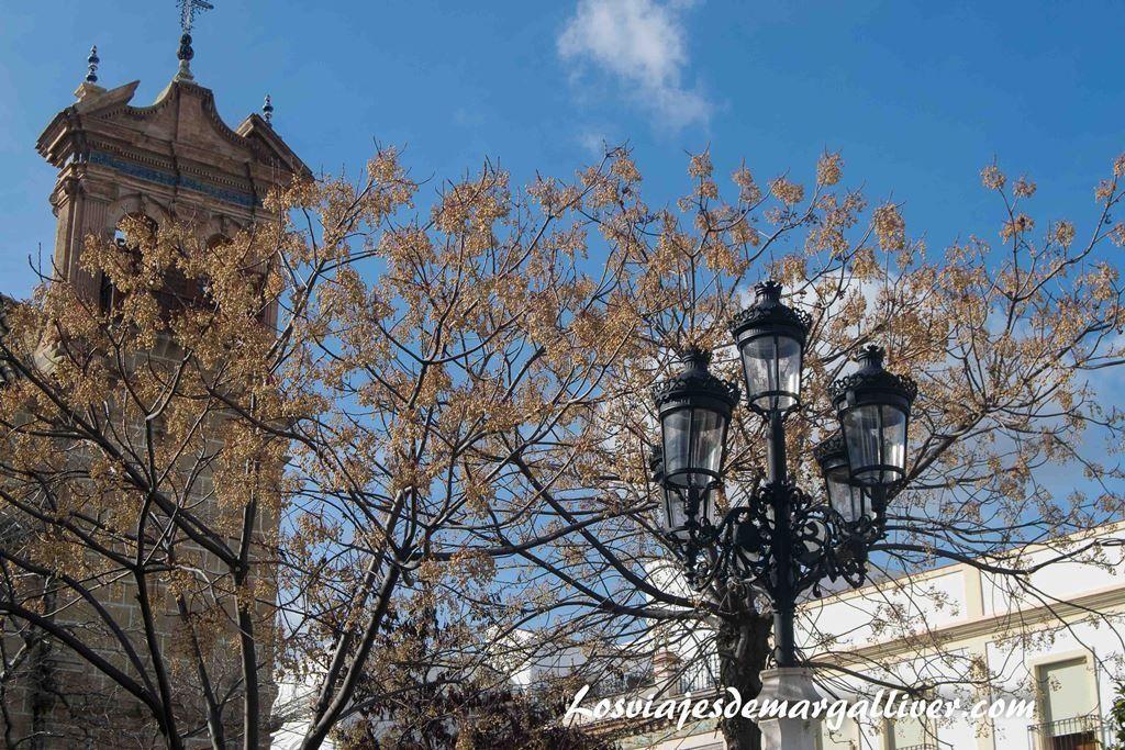 plaza mayor en Osuna , a una hora de - Los viajes de Margalliver