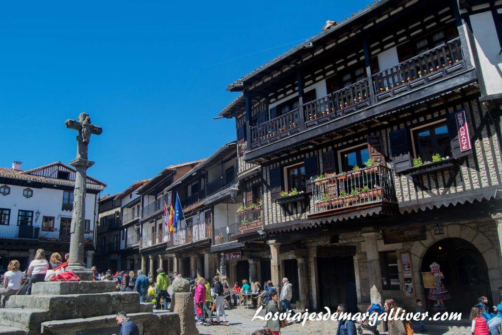 Plaza Mayor de La Alberca - Los viajes de Margalliver