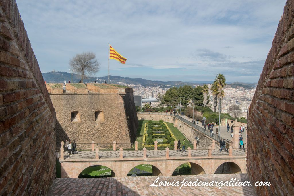Entrada del Castillo de Montjuic , Barcelona en 3 días - Los viajes de Margalliver