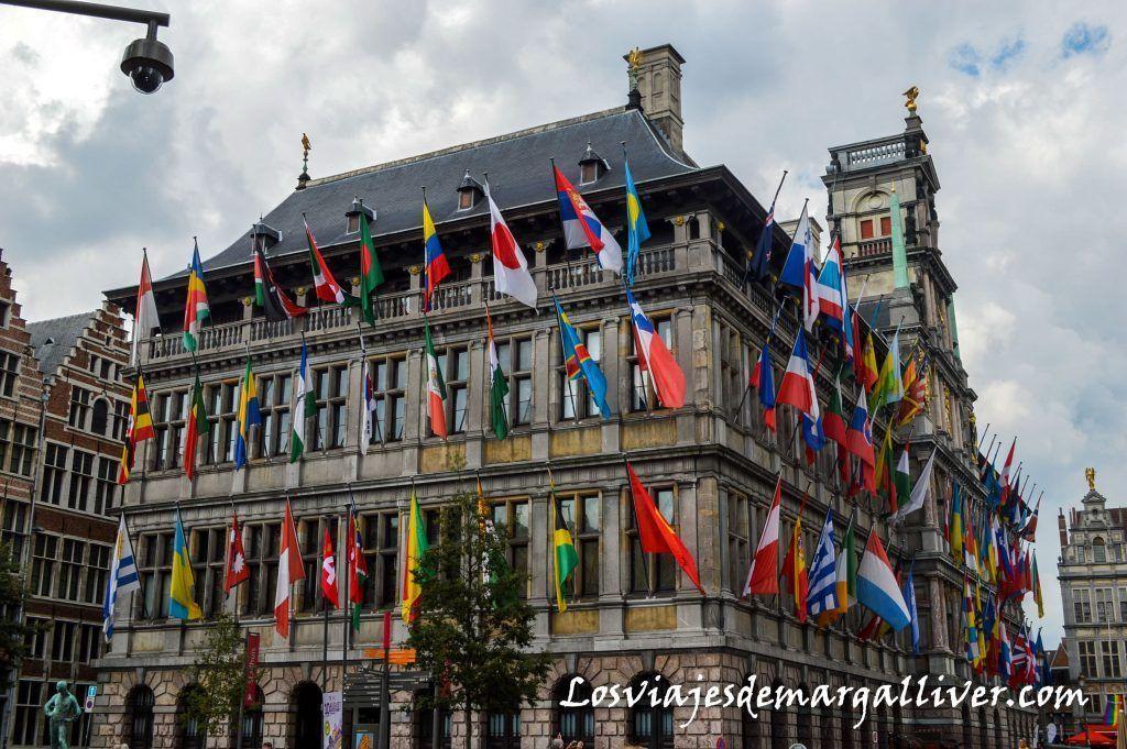 Ayuntamiento de Amberes , que ver en amberes en un día - Los viajes de Margalliver