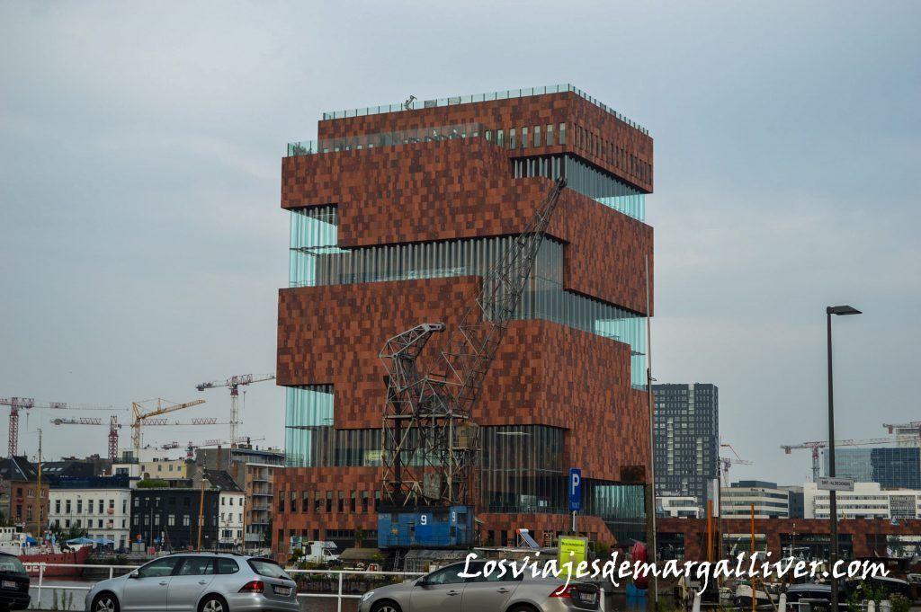 MAS (Museum Aan De Stroom) , visitar Amberes en un día - Los viajes de Margalliver