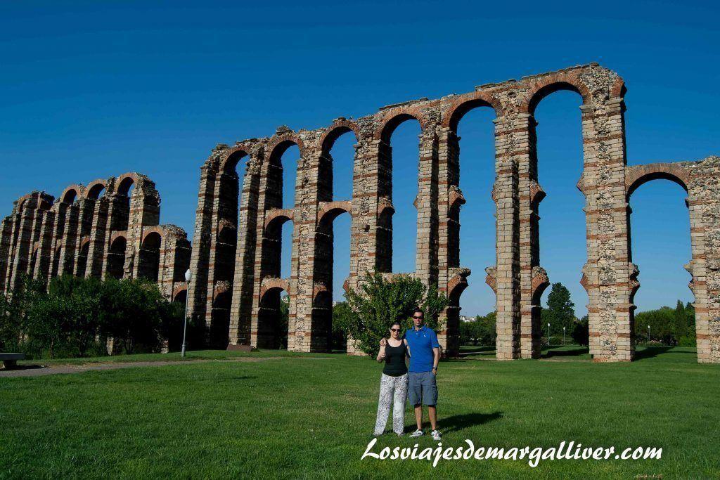 Acueducto de los Milagros en Mérida - Los viajes de Margalliver