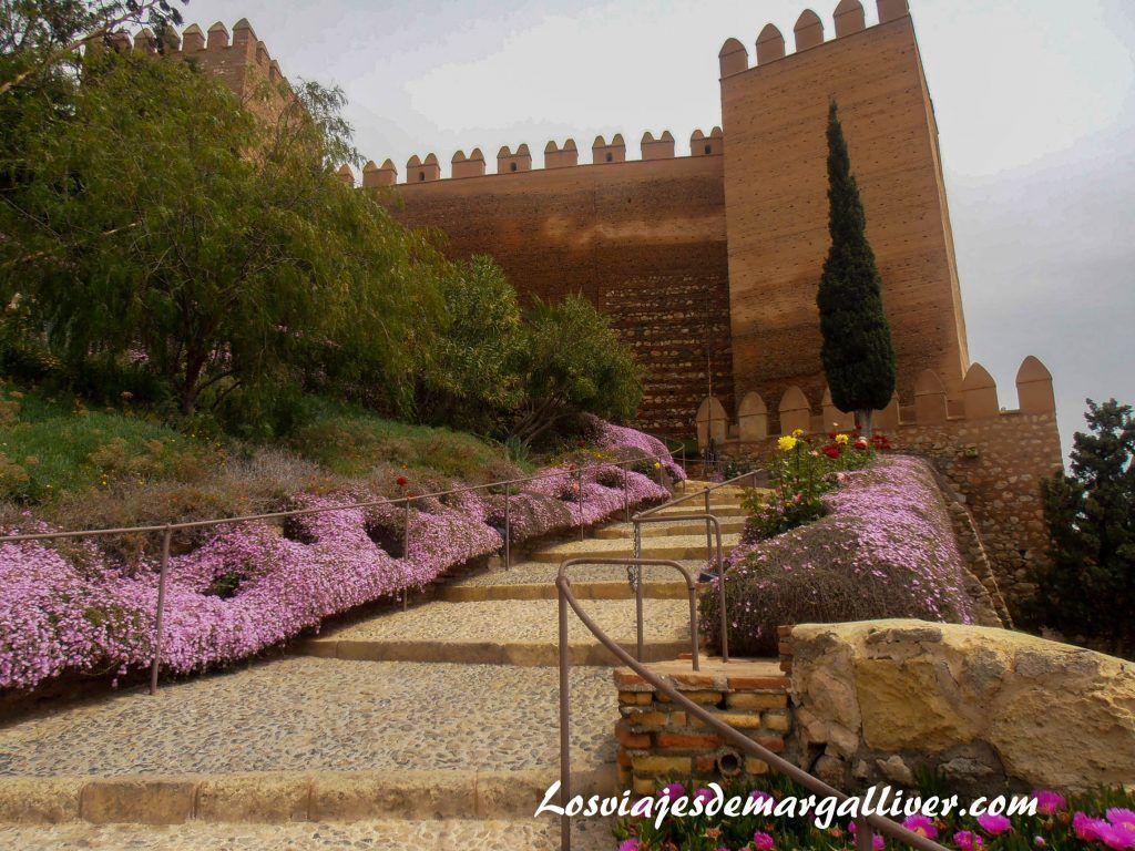 Alcazaba de Almería en la ruta de juego de tronos por Andalucía - Los viajes de Margalliver