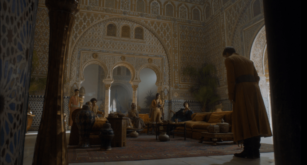 Reunion de Jaime con Doran Martell en Dorne, ruta de juego de tronos por Andalucía - Los viajes de margalliver