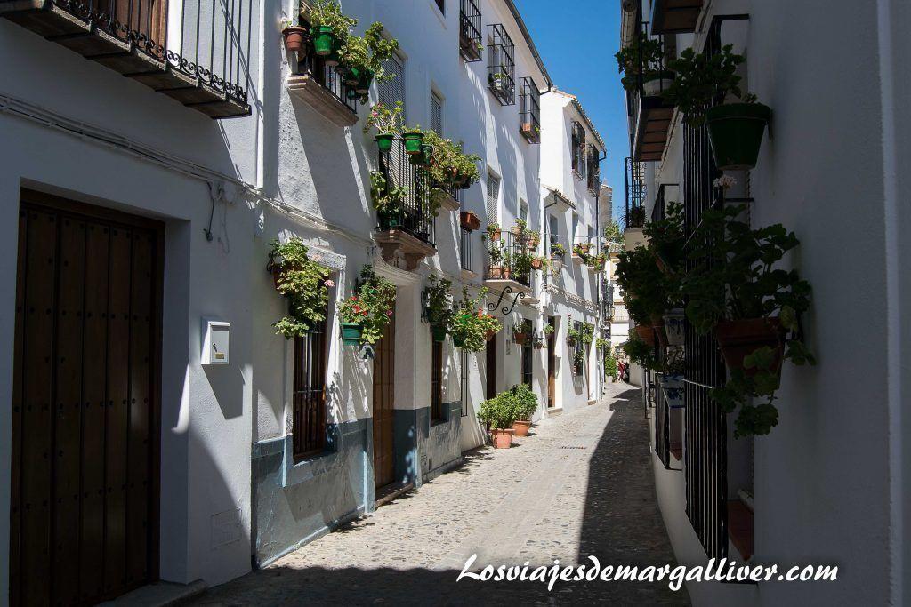 Paseo por el barrio de la villa en Priego de Córdoba - Los viajes de Margalliver