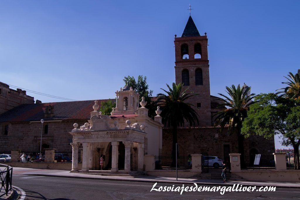 Basílica de Santa Eulalia en Mérida - Los viajes de Margalliver