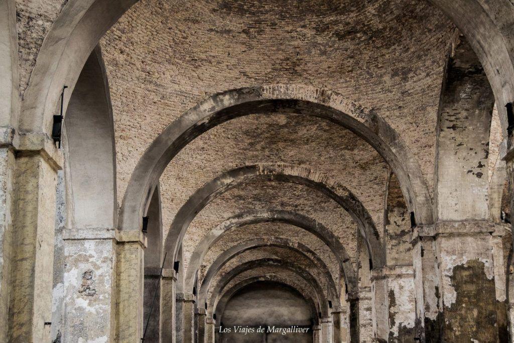 Bóvedas de la Real Fábrica de Artillería de Sevilla - Los viajes de Margalliver