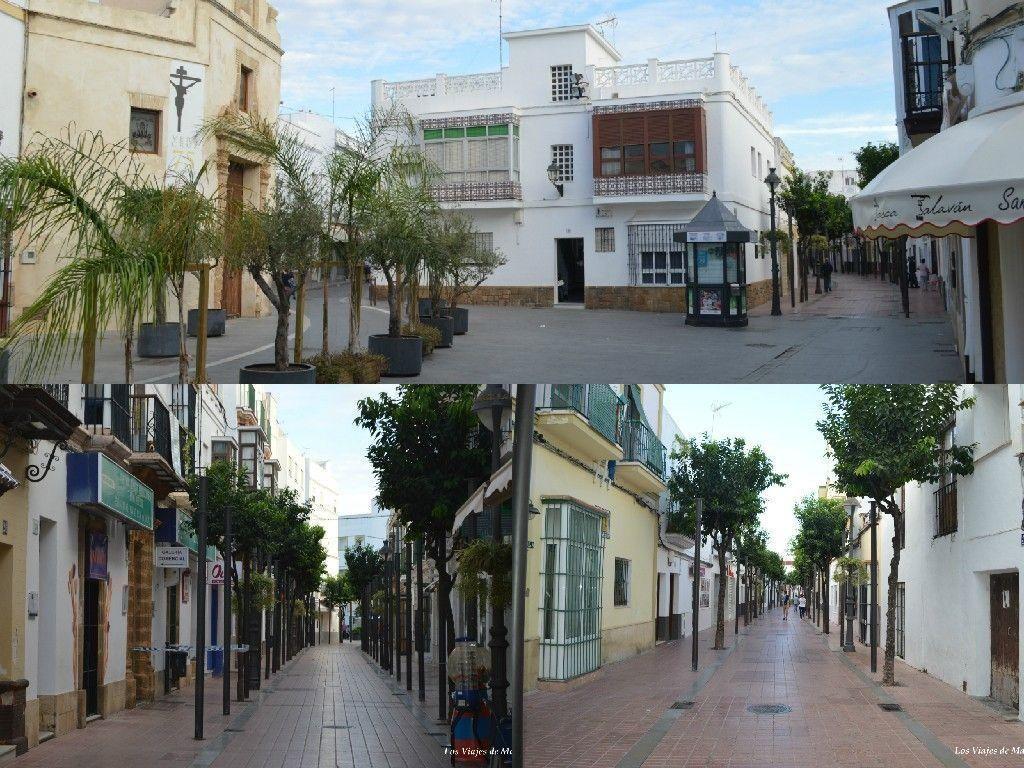 calle charco y plaza de san roque, que ver en Rota - Los viajes de Margalliver
