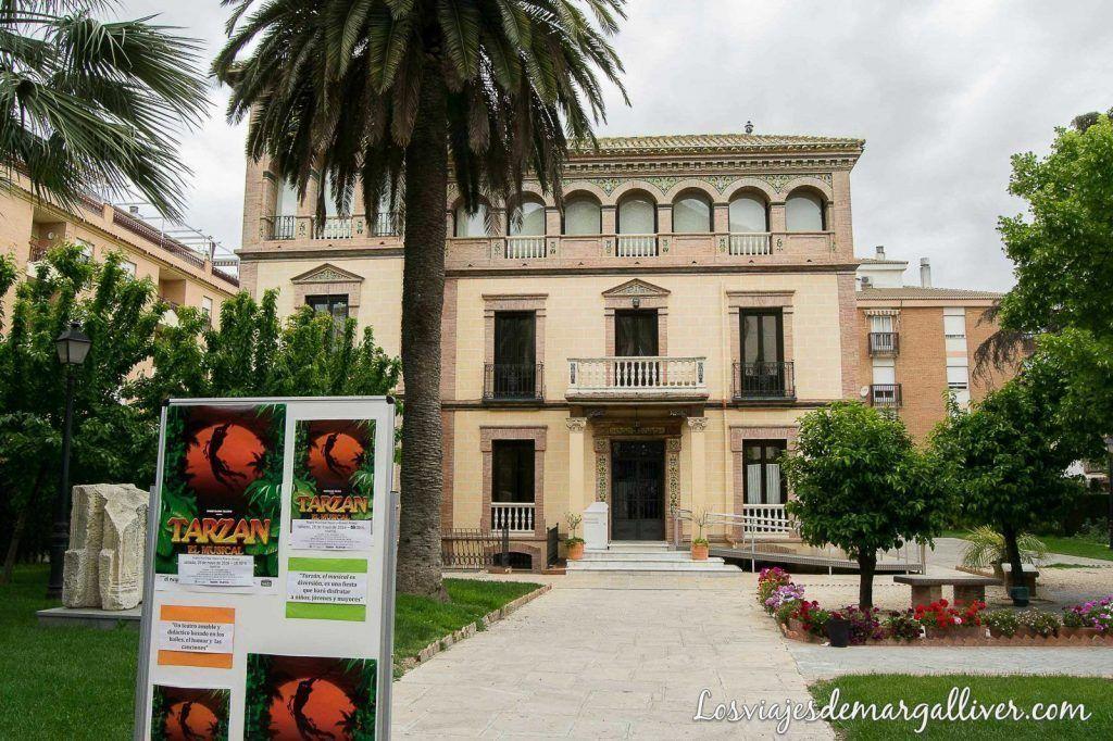 Casa de la cultura en Martos - Los viajes de Margalliver