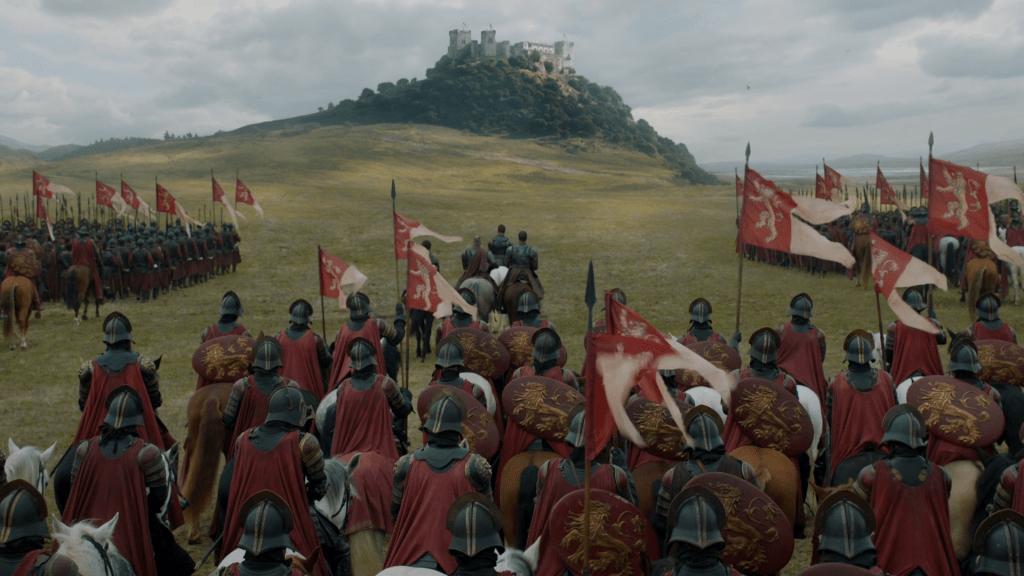 El ejercito de los Lannister dispuesto a tomar Alto Jardín (Castillo de Almodovar del Río) , ruta juego de tronos por Andalucía - Los viajes de Margalliver