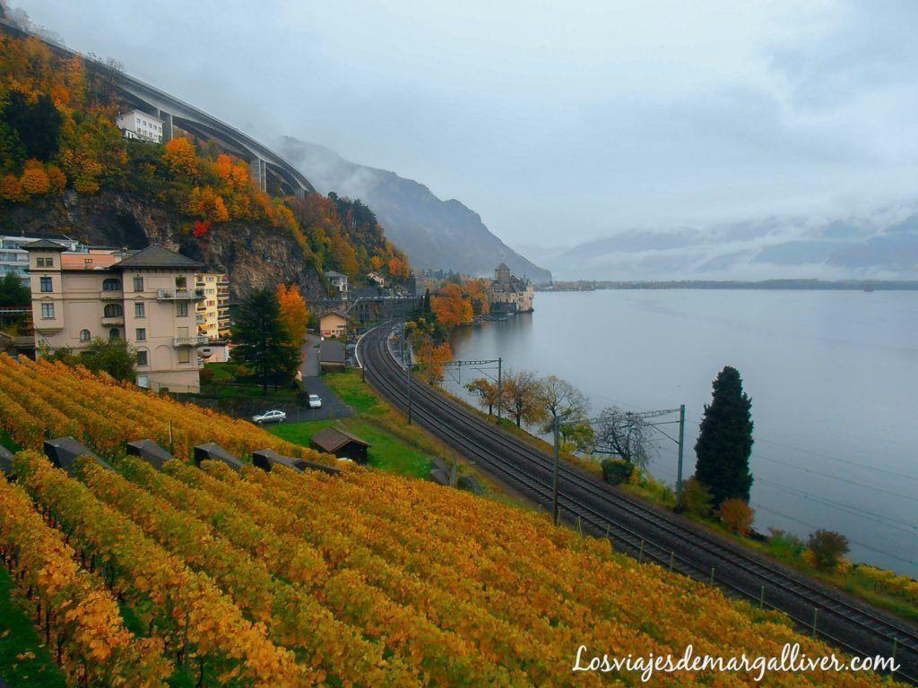 castillo de chillon, visitar Montreux- los viajes de margalliver