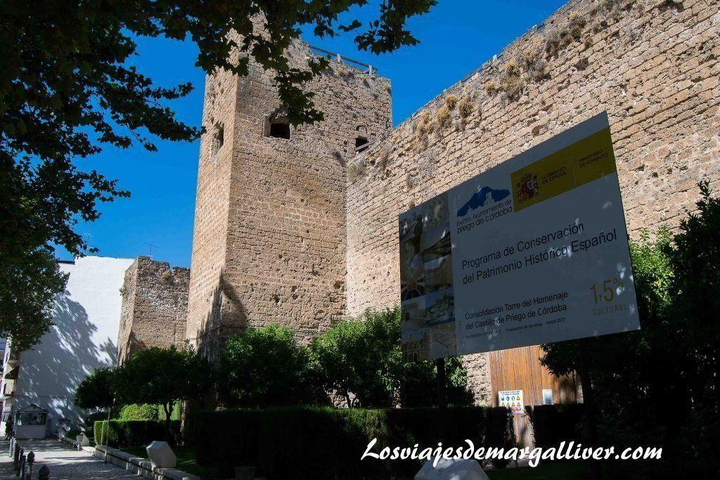 Castillo de Priego de Córdoba - Los viajes de Margalliver