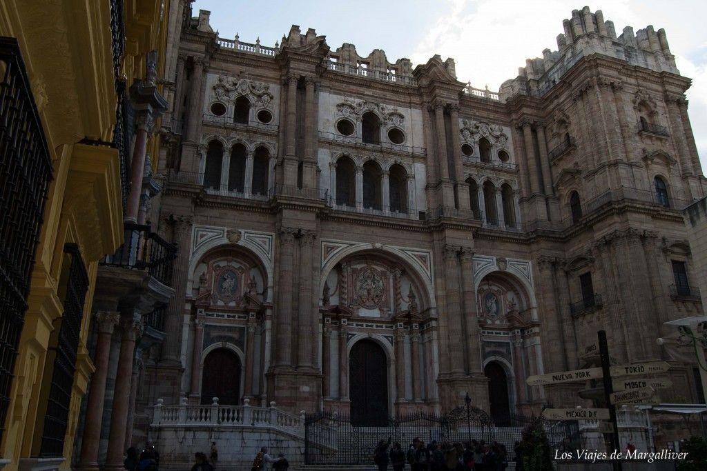 Ruta por Málaga ,catedral de malaga - los viajes de margalliver