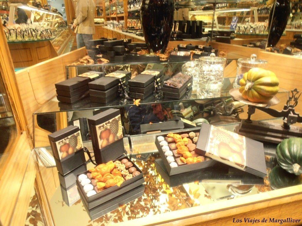 chocolate suizo en Berna - Los viajes de Margallvier