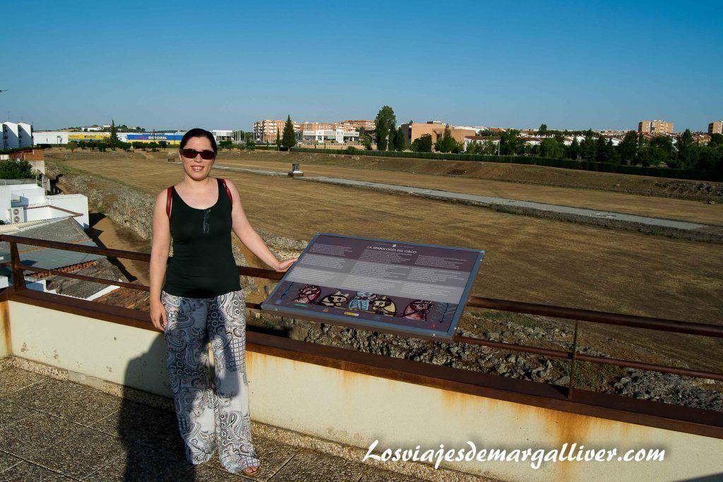 circo romano de Mérida - Los viajes de Margalliver