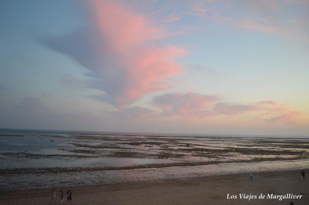 Vistas de los corrales de Rota desde el Hotel Playa de la Luz, que ver en Rota - Los viajes de Margalliver