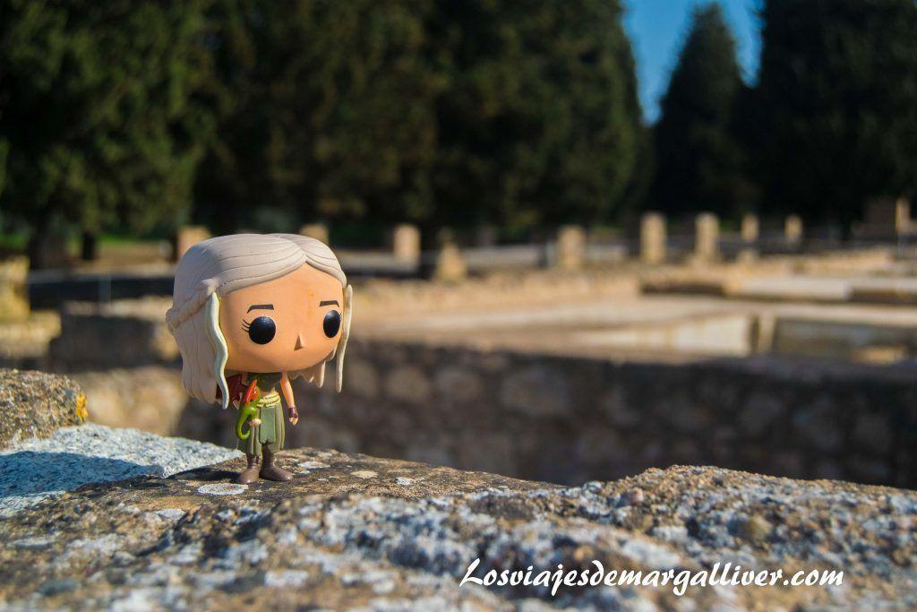 Daenerys en Italica, en la ruta de juego de tronos por Andalucía - Los viajes de Margalliver
