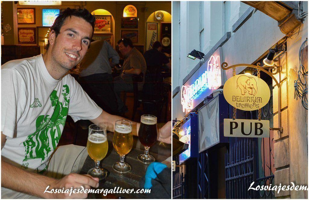 Delirium Café en Bruselas, 10 cosas que ver y hacer en Bruselas - Los viajes de Margalliver
