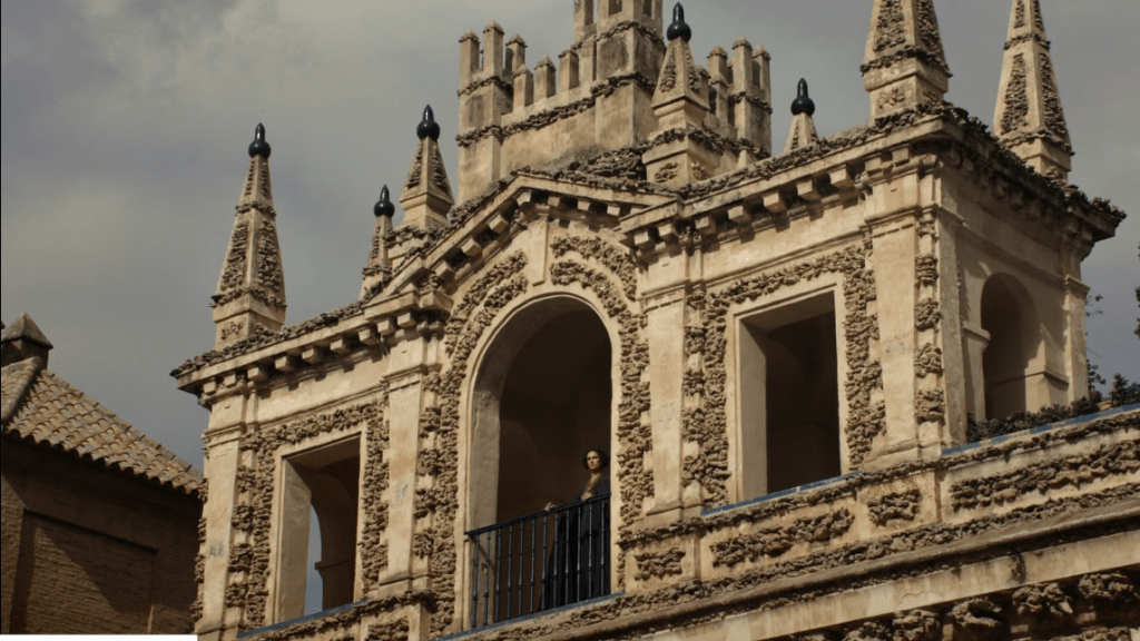 Ellaria Arena divisando los jardines del agua en Juego de Tronos por Andalucía - Los viajes de Margalliver