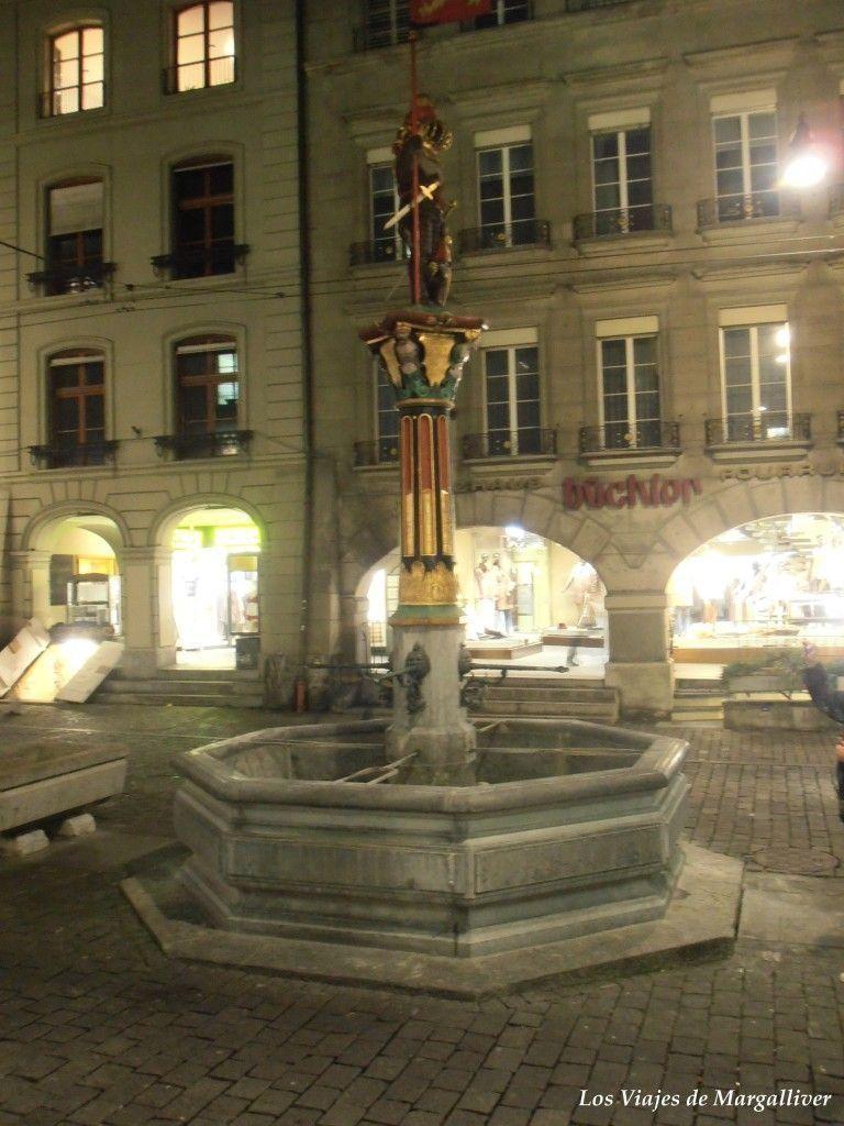 Fuente de Spitalgasse en Berna - Los viajes de Margalliver