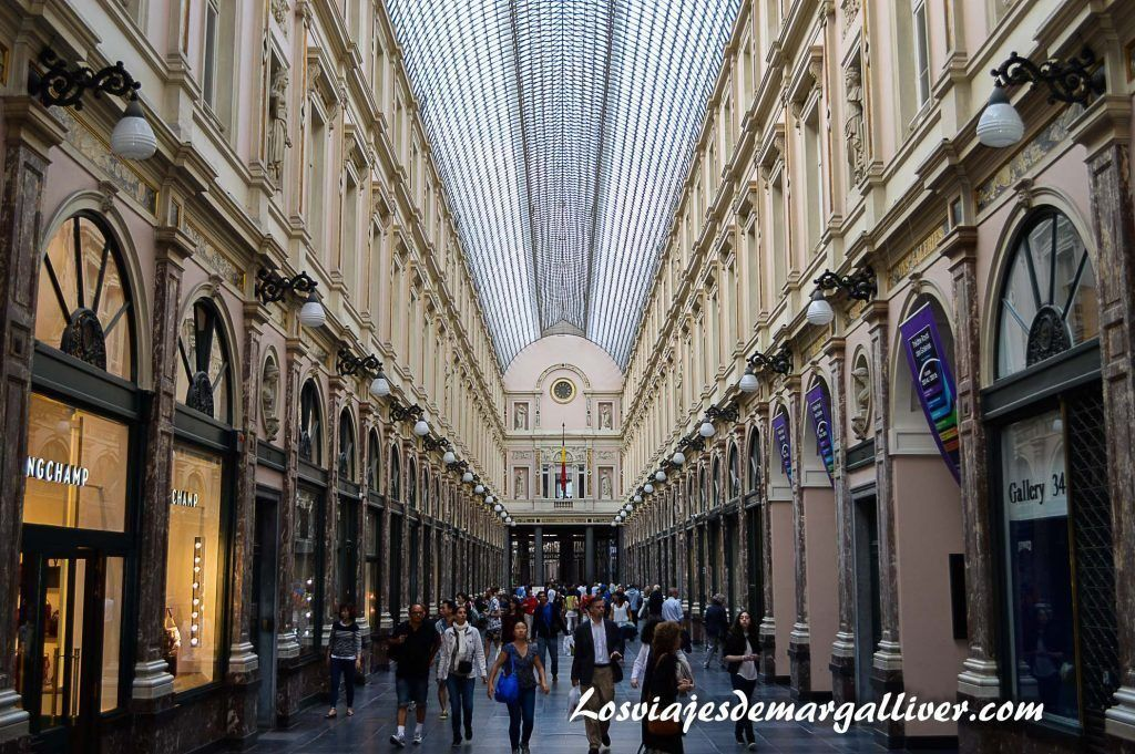 Galerias de la reina en Bruselas, 10 cosas que ver y hacer en Bruselas - Los viajes de Margalliver