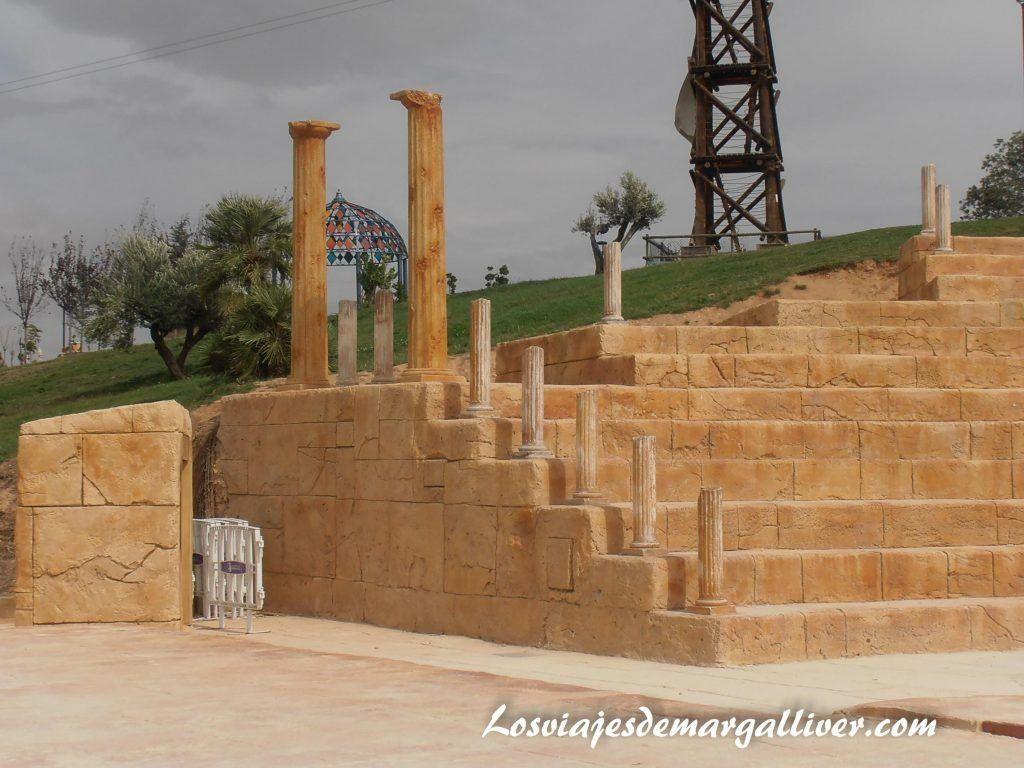 Grecia en el parque Europa en Madrid - Los viajes de Margalliver