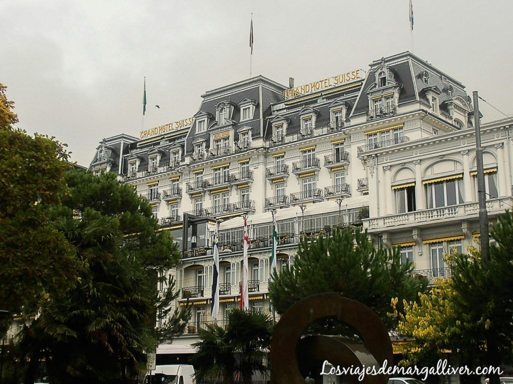 Grand Hotel Suisse en Montreux - Los viajes de margalliver