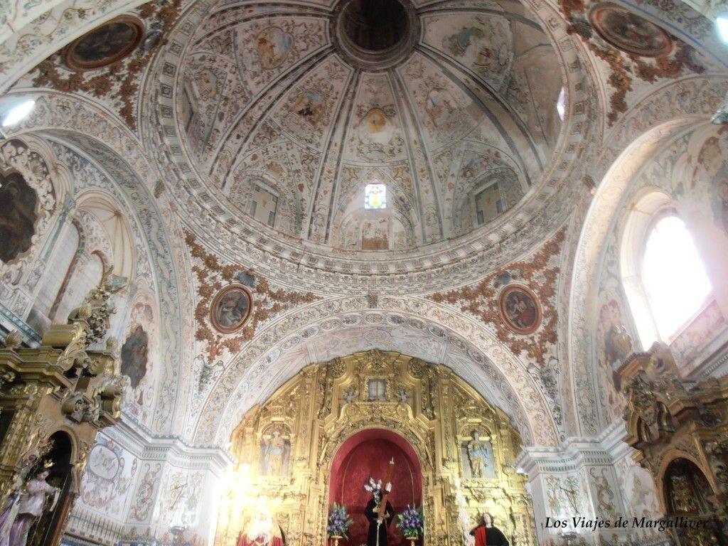 Cúpula de la Iglesia de la O en Rota - Los viajes de Margalliver