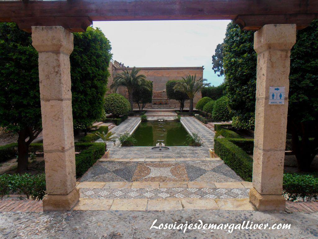 jardines de la alcazaba de Almería en la ruta de Juego de Tronos por Andalucía - Los viajes de Margalliver