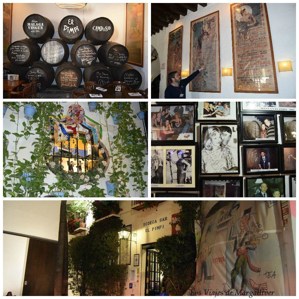 El pimpi de Málaga, un lugar indispensable en Málaga - Los viajes de Margalliver