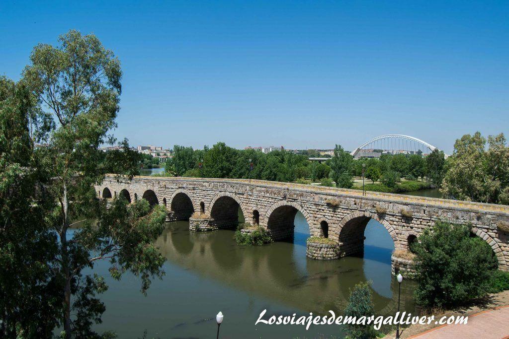 Puente romano de Mérida, que ver en un fin de semana en Mérida - Los viajes de Margalliver