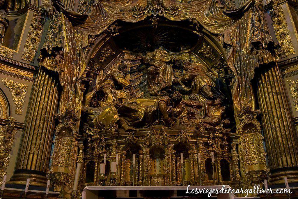 retablo de la sacra capilla del salvador en Úbeda en un día - Los viajes de margalliver