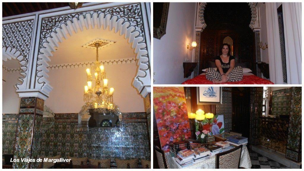 Dónde dormir en Tetuán, Riad El Reducto en Tetuan - Los viajes de margalliver
