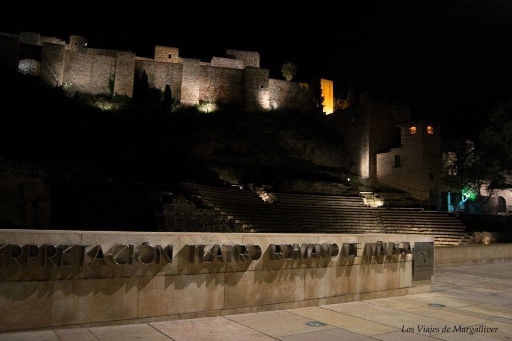 Ruta por Málaga,la Alcazaba y el teatro romano de Málaga - los viajes de margalliver