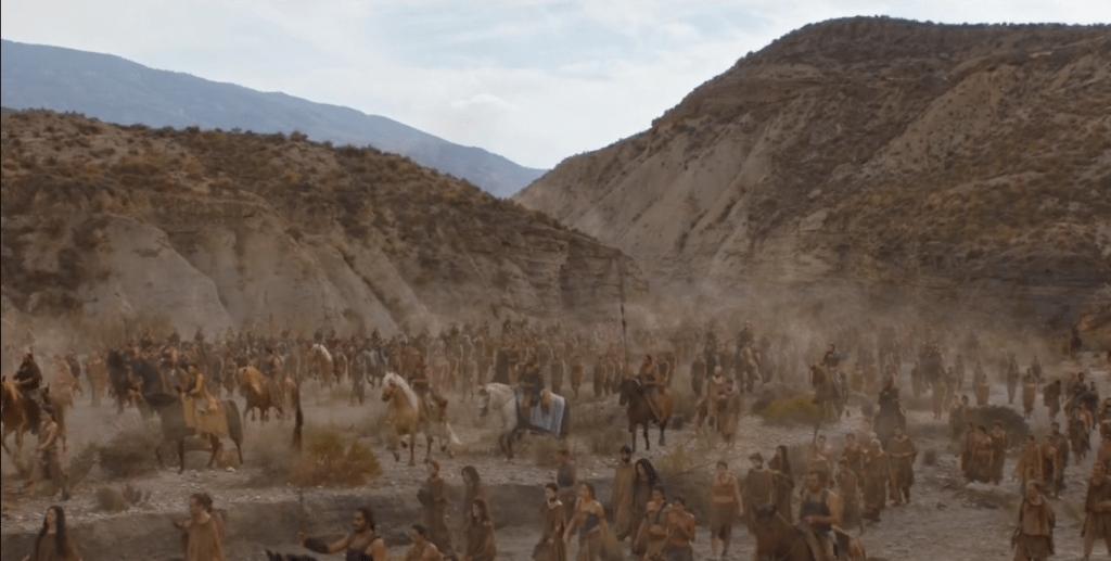 Llegada a Vaes Dothrak de Daenerys en Juego de Tronos por Andalucía - Los viajes de Margalliver