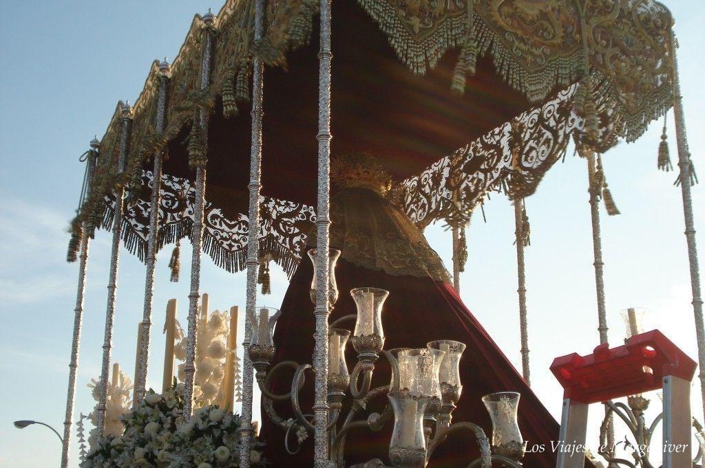 virgen del amor semana santa sevilla - los viajes de margalliver