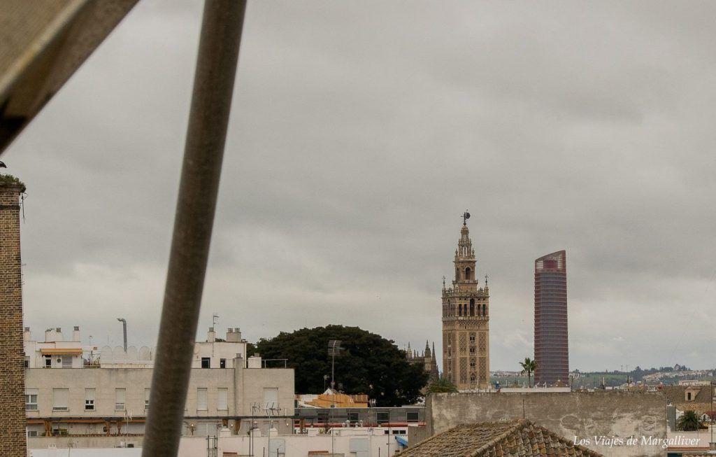 Vistas desde la cubiertas de la Real Fábrica de Artillería de Sevilla - Los viajes de Margalliver