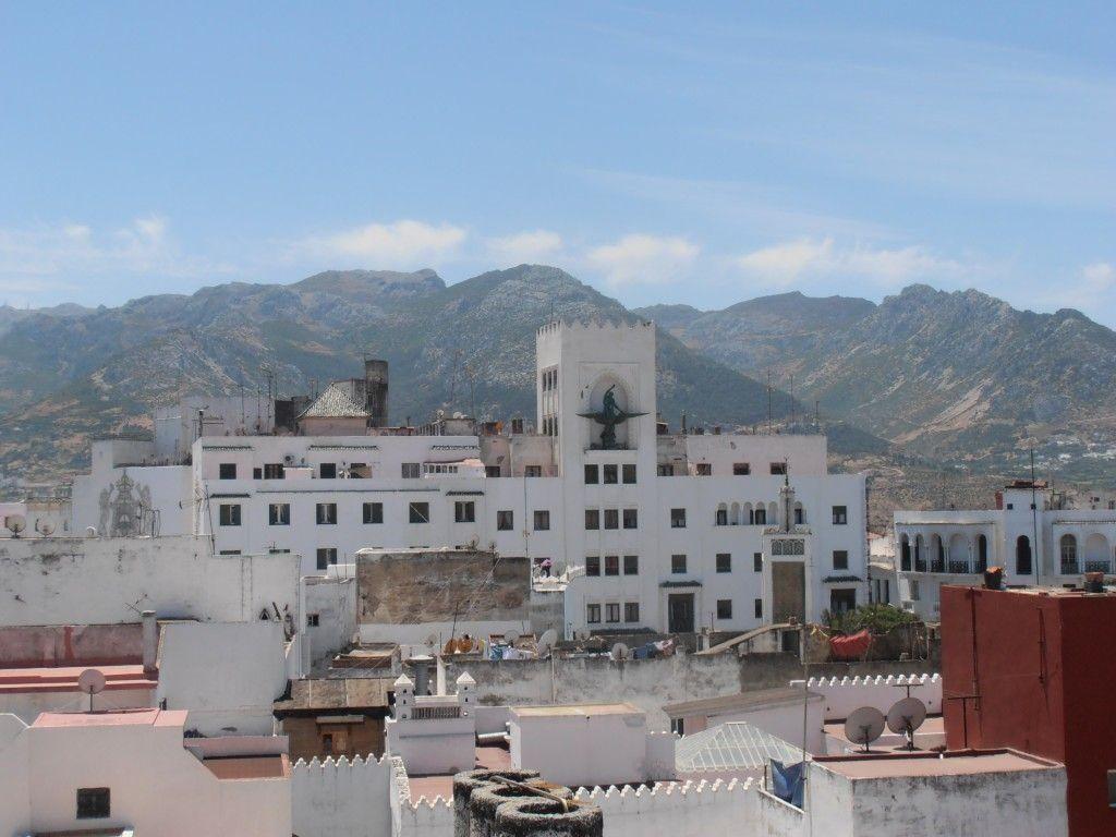 Vistas de Tetuán desde la azoteda del Riad El Reducto, que ver en Tetuan - Los viajes de Margalliver