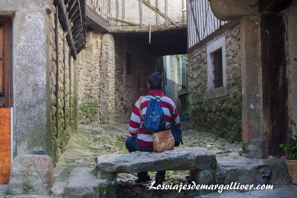Kike descansando en La Alberca - Los viajes de Margalliver