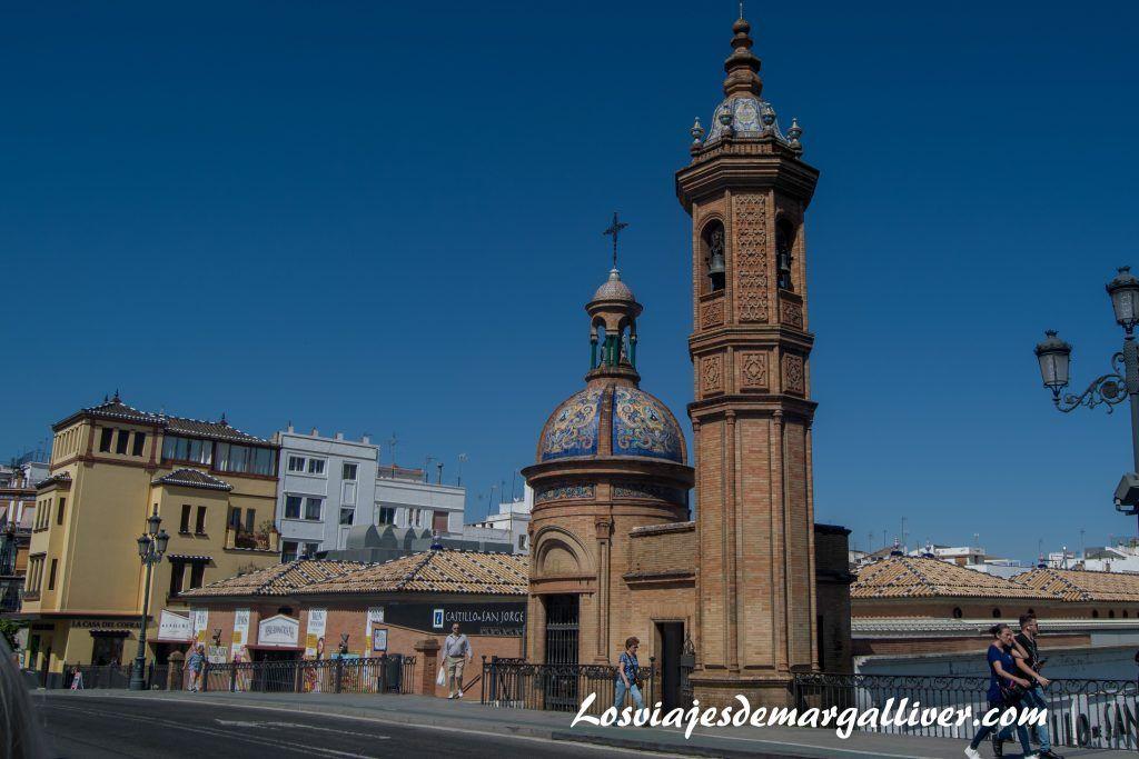 Castillo de San Jorge , La sevilla Americana - Los viajes de Margalliver