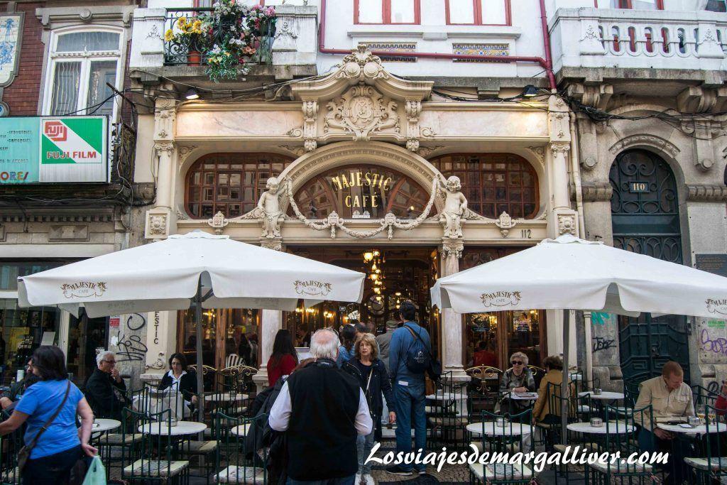 Cafe Majesctic en Oporto , visitar Oporto en 2 días - Los viajes de Margalliver