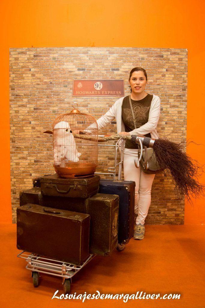 Rincón en la libreria Lello e Irmao sobre Harry Potter , Visitar Oporto - Los viajes de Margalliver