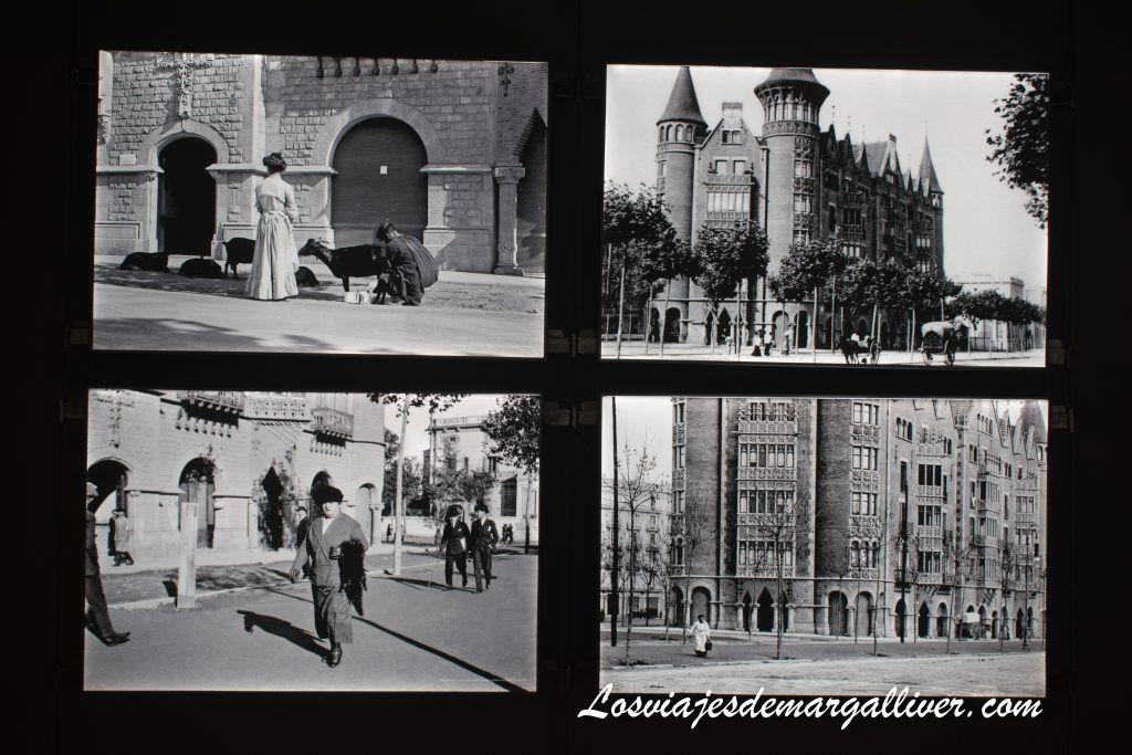 Fotos antiguas de la Casa de les Punxes en Barcelona - Los viajes de Margalliver
