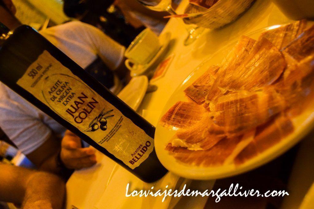 Desayuno típico molinero - Juan Colín en Montilla - Los viajes de Margalliver