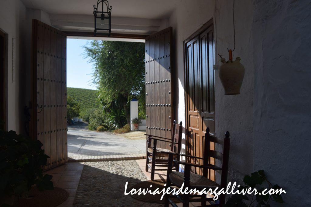 Lagar Cañada blanco en Montilla,Enoturismo en Montilla - Los viajes de Margalliver