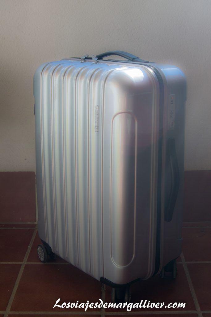 maleta gladiator genial para viajar a Canadá - Los viajes de Margallive