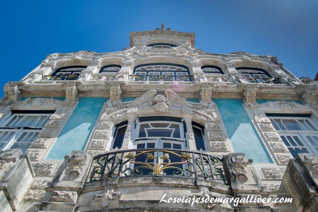 Fachada del museo de Arte Nova en Aveiro - Los viajes de Margalliver